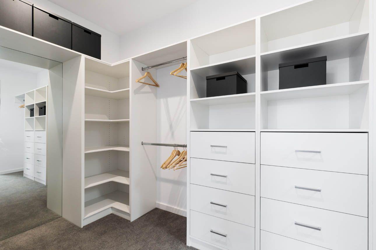 vestidor blanco espacioso barato a medida